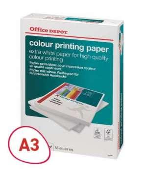 Kancelářský papír Office Depot Colour Printing - A3, 100 g, 500 listů