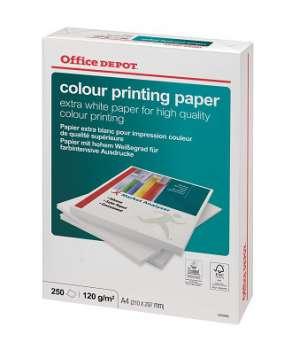 Kancelářský papír Office Depot Colour Printing - A4, 120 g, 250 listů