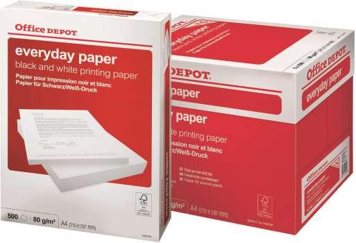 Kancelářský papír Office Depot Everyday - A4, 80 g, 500 listů
