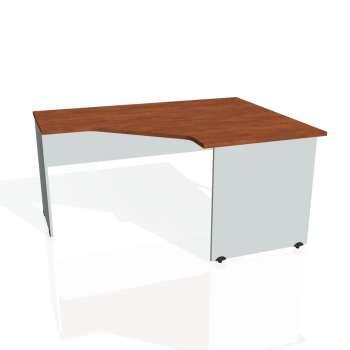 Psací stůl Hobis GATE GEV 80 levý, calvados/šedá