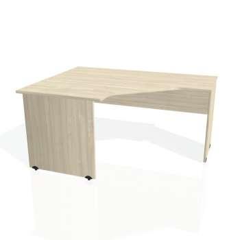Psací stůl Hobis GATE GEV 80 pravý, akát/akát