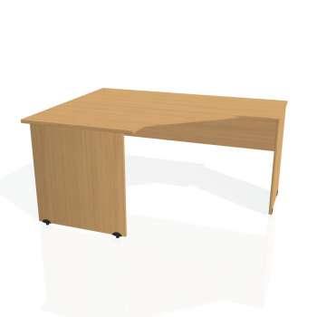 Psací stůl Hobis GATE GEV 80 pravý, buk/buk