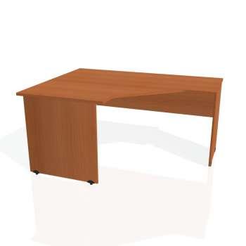 Psací stůl Hobis GATE GEV 80 pravý, třešeň/třešeň