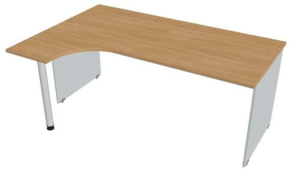 Psací stůl Hobis Gate GE 1800 P - calvados/šedá