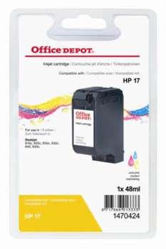 Cartridge Office Depot HP C6625A/17 - tříbarevná