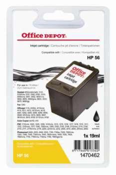 Cartridge Office Depot HP C6656A/56 - černá