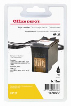Cartridge Office Depot HP C8727A/27 - černá