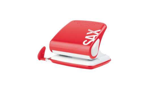 Děrovačka SAX 418 červená