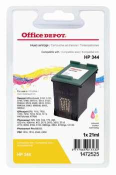 Cartridge Office Depot HP C9363EE/344 - 3 barvy , dvojbalení