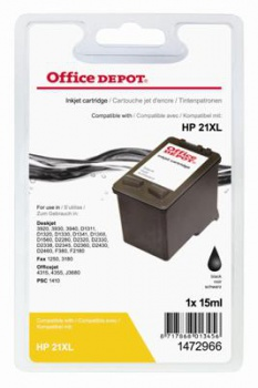 Cartridge Office Depot HP C9351A/21 - černá