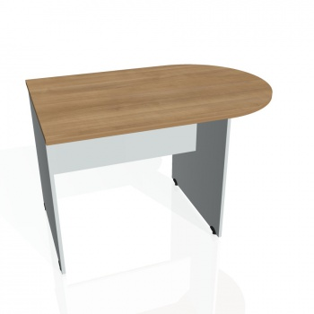 Přídavný stůl Hobis Gate GP 1200 1 - višeň/šedá