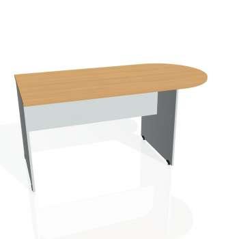 Přídavný stůl Hobis Gate GP 1600 1 - buk/šedá