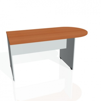 Přídavný stůl Hobis Gate GP 1600 1 - třešeň/šedá