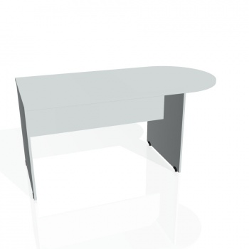 Přídavný stůl Hobis Gate GP 1600 1 - šedá/šedá