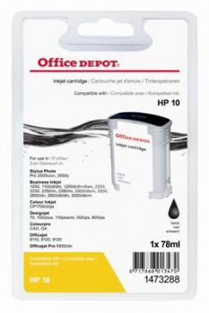 Cartridge Office Depot HP C4844A/10 - černá