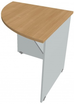Přídavný stůl Hobis Gate GP 902 L - calvados/šedá