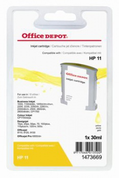 Cartridge Office Depot HP C4838A/11 - žlutá