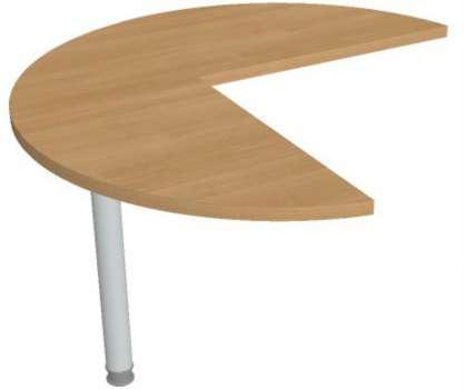 Přídavný stůl Hobis Gate GP 21 L - calvados/kov