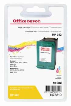 Cartridge Office Depot HP C9361EE/342 - tříbarevná