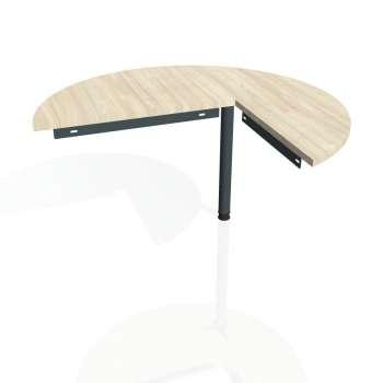 Přídavný stůl Hobis Gate GP 22 L - akát/kov