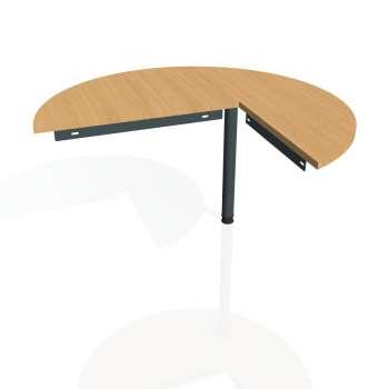 Přídavný stůl Hobis Gate GP 22 L - buk/kov