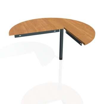 Přídavný stůl Hobis Gate GP 22 L - olše/kov