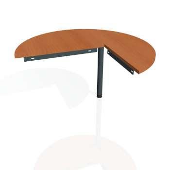 Přídavný stůl Hobis Gate GP 22 L - třešeň/kov