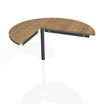 Přídavný stůl Hobis Gate GP 22 P - višeň/kov