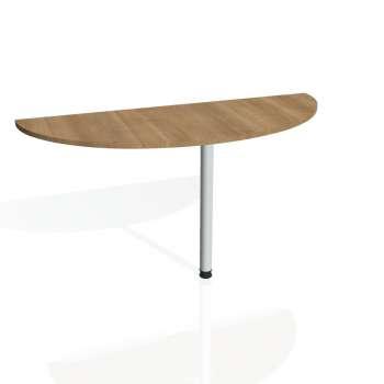 Přídavný stůl Hobis Gate GP 160 - višeň/kov