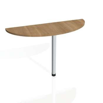 Přídavný stůl Hobis Gate GP 120 - višeň/kov