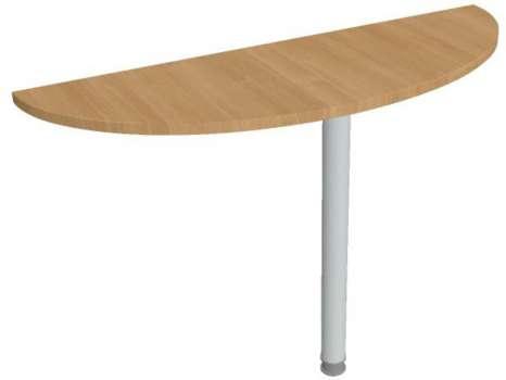 Přídavný stůl Hobis Gate GP 120 - calvados/kov