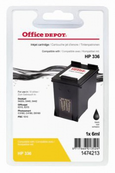 Cartridge Office Depot HP C9362EE/336 - černá