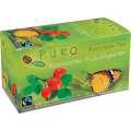 Bylinný čaj Puro - šípek a ibišek, Fairtrade, 25x 2 g