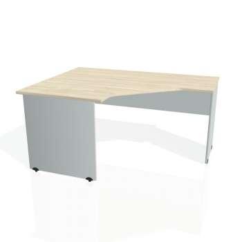 Psací stůl Hobis GATE GEV 80 pravý, akát/šedá