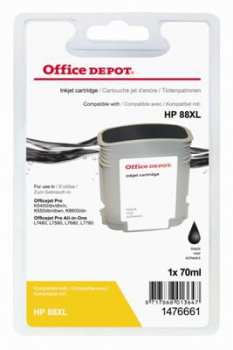 Cartridge Office Depot HP C9396AE/88XL - černá