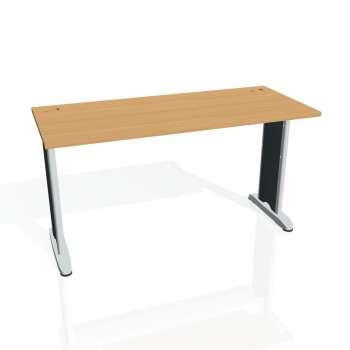 Psací stůl Hobis Flex FE 1400 - buk/kov