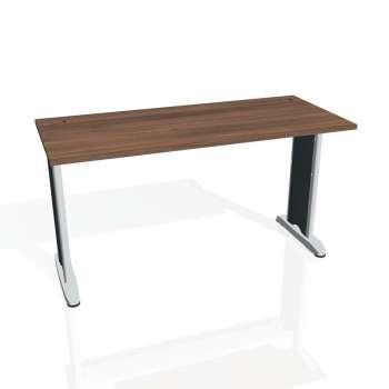 Psací stůl Hobis Flex FE 1400 - ořech/kov