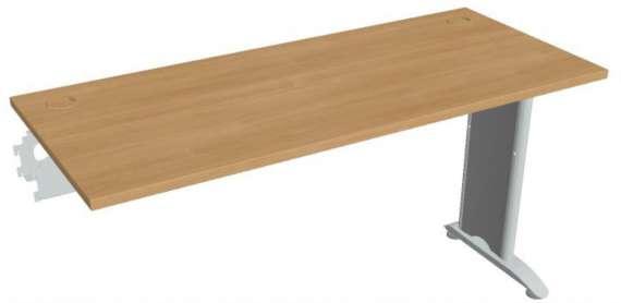 Psací stůl Hobis Flex FE 1400 R - calvados/kov