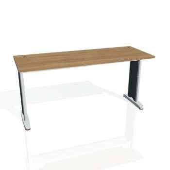 Psací stůl Hobis Flex FE 1600 - višeň/kov
