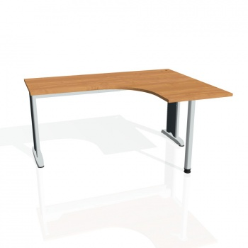 Psací stůl Hobis Flex FE 60 L - olše/kov