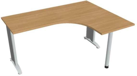 Psací stůl Hobis Flex FE 60 L - calvados/kov