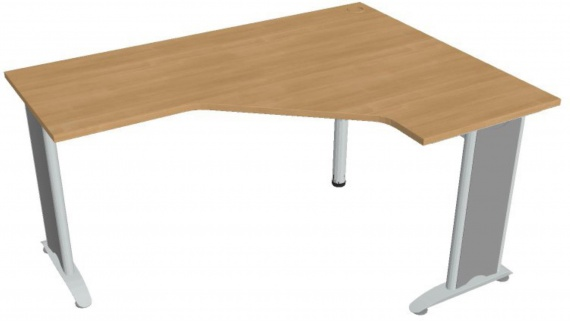 Psací stůl Hobis Flex FEV 60 L - calvados/kov