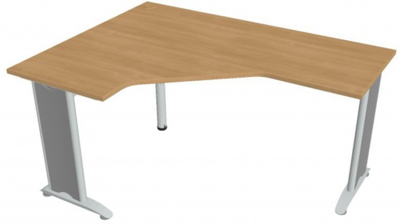 Psací stůl Hobis Flex FEV 60 P - calvados/kov