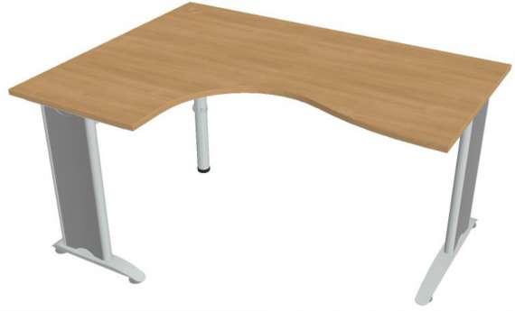 Psací stůl Hobis Flex FE 2005 P - calvados/kov