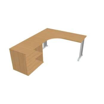 Psací stůl Hobis Flex FE 60 H P - calvados/kov