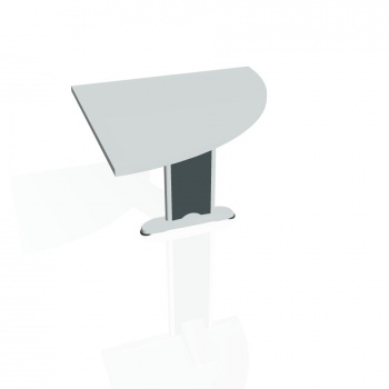 Přídavný stůl Hobis Flex FP 901 P - šedá/kov