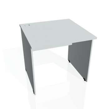 Psací stůl Hobis GATE GS 800, šedá/šedá