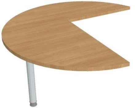 Přídavný stůl Hobis Flex FP 22 L - calvados/kov