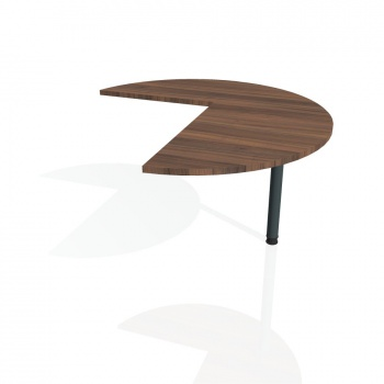 Přídavný stůl Hobis Flex FP 22 P - ořech/kov