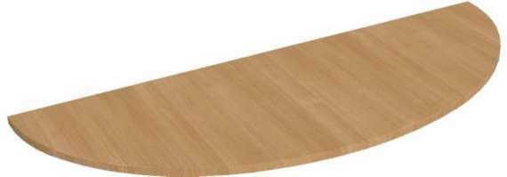 Přídavný stůl Hobis Flex FP 160 - calvados